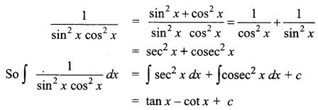 Samacheer Kalvi 12th Business Maths Solutions Chapter 2 Integral Calculus I Ex 2.4 Q4