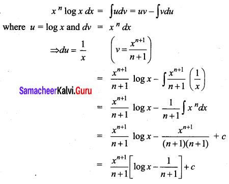 Samacheer Kalvi 12th Business Maths Solutions Chapter 2 Integral Calculus I Ex 2.5 Q5