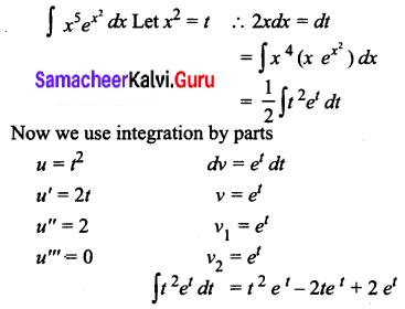 Samacheer Kalvi 12th Business Maths Solutions Chapter 2 Integral Calculus I Ex 2.5 Q6.2