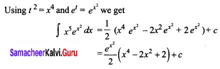 Samacheer Kalvi 12th Business Maths Solutions Chapter 2 Integral Calculus I Ex 2.5 Q6.3