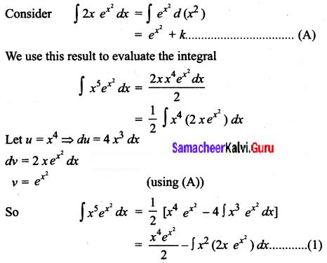 Samacheer Kalvi 12th Business Maths Solutions Chapter 2 Integral Calculus I Ex 2.5 Q6