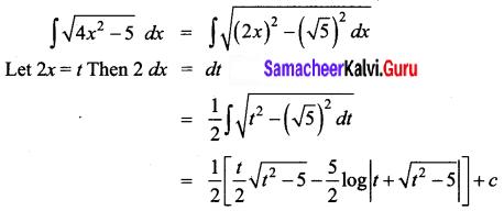 Samacheer Kalvi 12th Business Maths Solutions Chapter 2 Integral Calculus I Ex 2.7 Q14