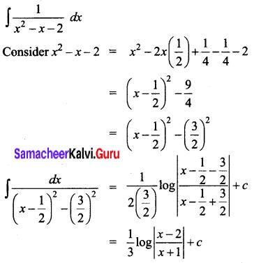 Samacheer Kalvi 12th Business Maths Solutions Chapter 2 Integral Calculus I Ex 2.7 Q4
