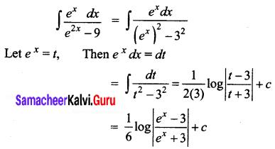 Samacheer Kalvi 12th Business Maths Solutions Chapter 2 Integral Calculus I Ex 2.7 Q7