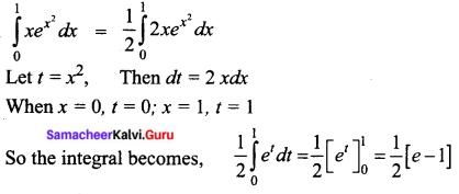 Samacheer Kalvi 12th Business Maths Solutions Chapter 2 Integral Calculus I Ex 2.8 I Q5