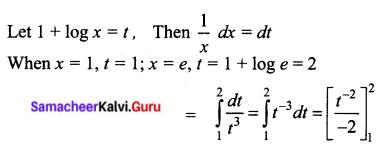 Samacheer Kalvi 12th Business Maths Solutions Chapter 2 Integral Calculus I Ex 2.8 I Q6