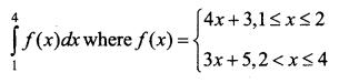 Samacheer Kalvi 12th Business Maths Solutions Chapter 2 Integral Calculus I Ex 2.8 II Q1