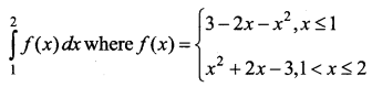 Samacheer Kalvi 12th Business Maths Solutions Chapter 2 Integral Calculus I Ex 2.8 II Q2