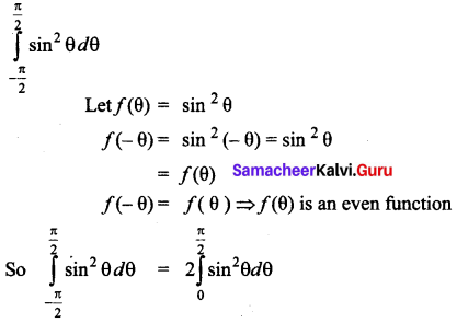 Samacheer Kalvi 12th Business Maths Solutions Chapter 2 Integral Calculus I Ex 2.9 Q2