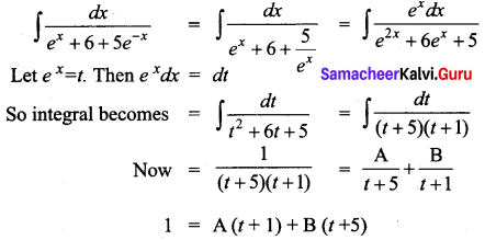 Samacheer Kalvi 12th Business Maths Solutions Chapter 2 Integral Calculus I Miscellaneous Problems Q3