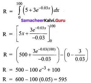 Samacheer Kalvi 12th Business Maths Solutions Chapter 3 Integral Calculus II Ex 3.2 Q10