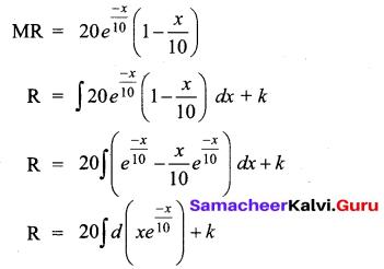 Samacheer Kalvi 12th Business Maths Solutions Chapter 3 Integral Calculus II Ex 3.2 Q13