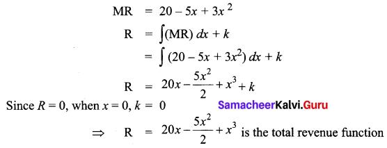 Samacheer Kalvi 12th Business Maths Solutions Chapter 3 Integral Calculus II Ex 3.2 Q19