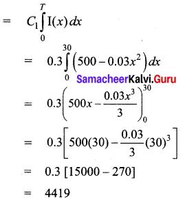 Samacheer Kalvi 12th Business Maths Solutions Chapter 3 Integral Calculus II Ex 3.2 Q4