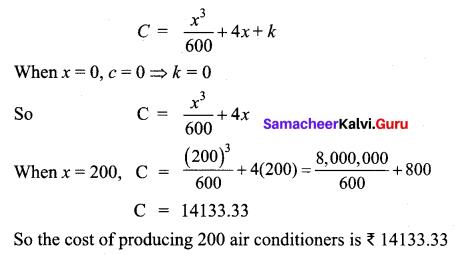 Samacheer Kalvi 12th Business Maths Solutions Chapter 3 Integral Calculus II Ex 3.2 Q9.1
