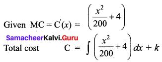 Samacheer Kalvi 12th Business Maths Solutions Chapter 3 Integral Calculus II Ex 3.2 Q9