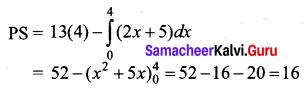 Samacheer Kalvi 12th Business Maths Solutions Chapter 3 Integral Calculus II Ex 3.3 Q11.1