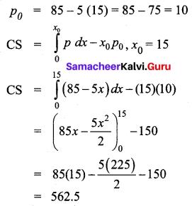 Samacheer Kalvi 12th Business Maths Solutions Chapter 3 Integral Calculus II Ex 3.3 Q3
