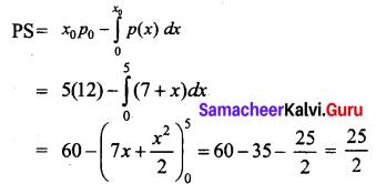 Samacheer Kalvi 12th Business Maths Solutions Chapter 3 Integral Calculus II Ex 3.3 Q5