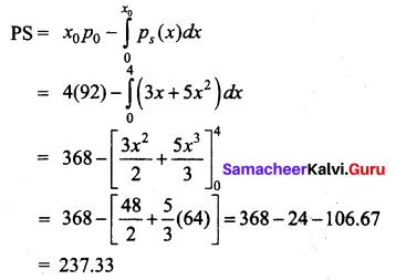 Samacheer Kalvi 12th Business Maths Solutions Chapter 3 Integral Calculus II Ex 3.3 Q6