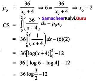 Samacheer Kalvi 12th Business Maths Solutions Chapter 3 Integral Calculus II Ex 3.3 Q7