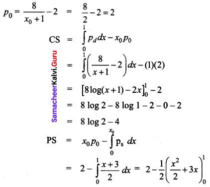 Samacheer Kalvi 12th Business Maths Solutions Chapter 3 Integral Calculus II Ex 3.3 Q9.1