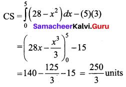 Samacheer Kalvi 12th Business Maths Solutions Chapter 3 Integral Calculus II Ex 3.4 Q13