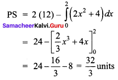 Samacheer Kalvi 12th Business Maths Solutions Chapter 3 Integral Calculus II Ex 3.4 Q14