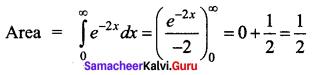 Samacheer Kalvi 12th Business Maths Solutions Chapter 3 Integral Calculus II Ex 3.4 Q2
