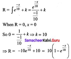 Samacheer Kalvi 12th Business Maths Solutions Chapter 3 Integral Calculus II Ex 3.4 Q4