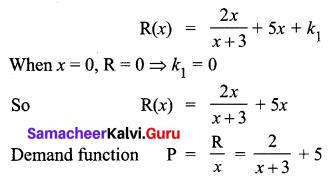 Samacheer Kalvi 12th Business Maths Solutions Chapter 3 Integral Calculus II Miscellaneous Problems Q3.1