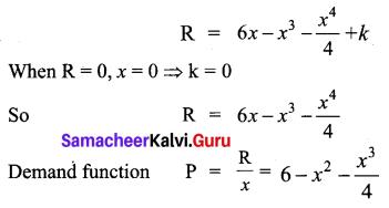 Samacheer Kalvi 12th Business Maths Solutions Chapter 3 Integral Calculus II Miscellaneous Problems Q4
