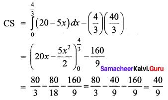 Samacheer Kalvi 12th Business Maths Solutions Chapter 3 Integral Calculus II Miscellaneous Problems Q6.1