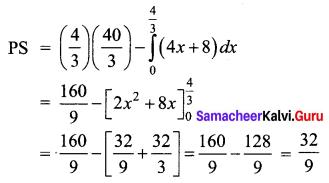 Samacheer Kalvi 12th Business Maths Solutions Chapter 3 Integral Calculus II Miscellaneous Problems Q6.2