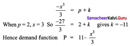 Samacheer Kalvi 12th Business Maths Solutions Chapter 3 Integral Calculus II Miscellaneous Problems Q8.1