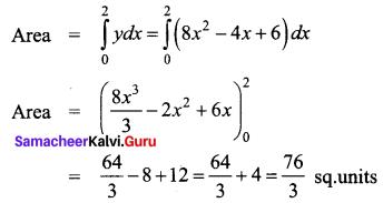 Samacheer Kalvi 12th Business Maths Solutions Chapter 3 Integral Calculus II Miscellaneous Problems Q9.1