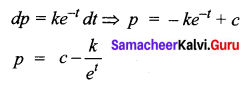 Samacheer Kalvi 12th Business Maths Solutions Chapter 4 Differential Equations Additional Problems I Q5