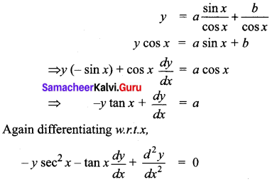 Samacheer Kalvi 12th Business Maths Solutions Chapter 4 Differential Equations Additional Problems II Q3