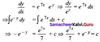 Samacheer Kalvi 12th Business Maths Solutions Chapter 4 Differential Equations Additional Problems II Q4