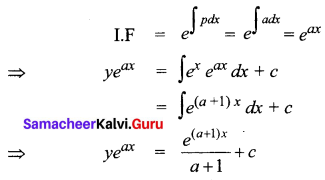 Samacheer Kalvi 12th Business Maths Solutions Chapter 4 Differential Equations Additional Problems III Q4