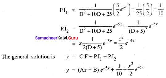 Samacheer Kalvi 12th Business Maths Solutions Chapter 4 Differential Equations Additional Problems III Q7
