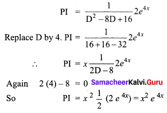 Samacheer Kalvi 12th Business Maths Solutions Chapter 4 Differential Equations Ex 4.6 Q10