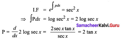 Samacheer Kalvi 12th Business Maths Solutions Chapter 4 Differential Equations Ex 4.6 Q12