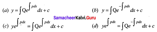 Samacheer Kalvi 12th Business Maths Solutions Chapter 4 Differential Equations Ex 4.6 Q14
