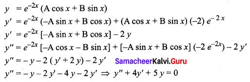 Samacheer Kalvi 12th Business Maths Solutions Chapter 4 Differential Equations Ex 4.6 Q15