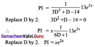 Samacheer Kalvi 12th Business Maths Solutions Chapter 4 Differential Equations Ex 4.6 Q19