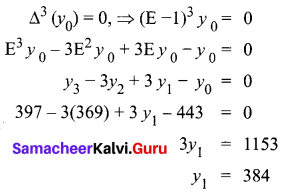 Samacheer Kalvi 12th Business Maths Solutions Chapter 5 Numerical Methods Additional Problems II Q2.1