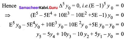 Samacheer Kalvi 12th Business Maths Solutions Chapter 5 Numerical Methods Ex 5.1 Q7.1