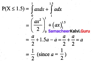 Samacheer Kalvi 12th Business Maths Solutions Chapter 6 Random Variable and Mathematical Expectation Additional Problems III Q4.2