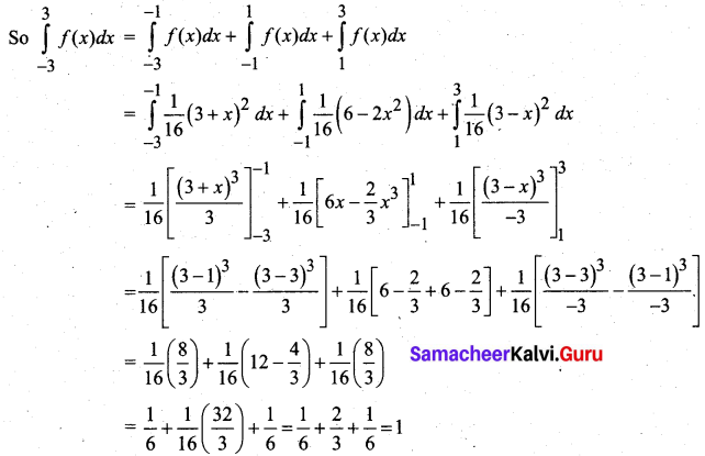 Samacheer Kalvi 12th Business Maths Solutions Chapter 6 Random Variable and Mathematical Expectation Ex 6.1 16